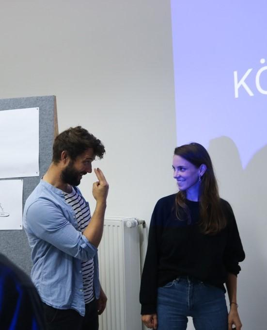 Fluurcademy Pitch like a Pro-Workshop Augenkontakt